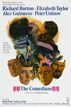 The Comedians - Movie Poster (thumbnail)