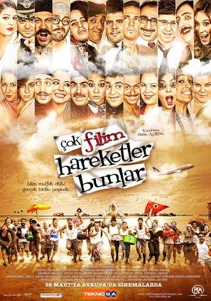 Çok filim hareketler bunlar - Turkish Movie Poster (thumbnail)