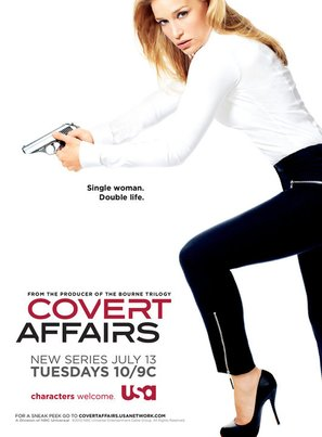 """Covert Affairs"" - Movie Poster (thumbnail)"