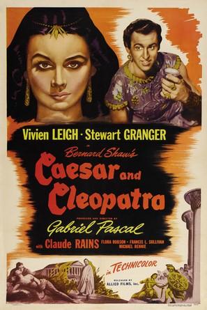 Caesar and Cleopatra - Movie Poster (thumbnail)
