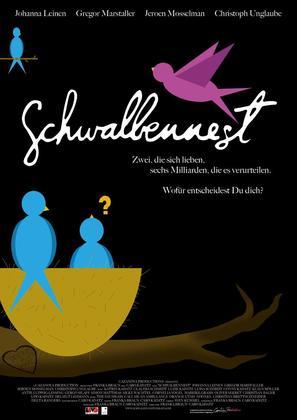 Schwalbennest - German Movie Poster (thumbnail)
