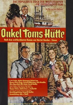Onkel Toms Hütte - German Movie Poster (thumbnail)