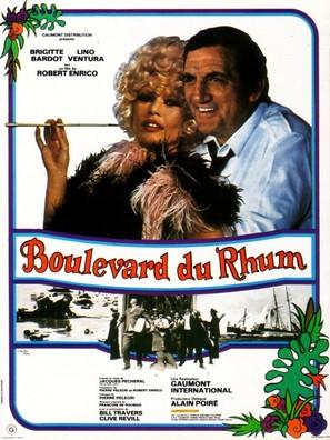 Boulevard du rhum - French Movie Poster (thumbnail)