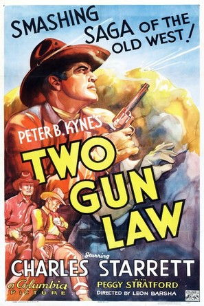 Two Gun Law - Movie Poster (thumbnail)