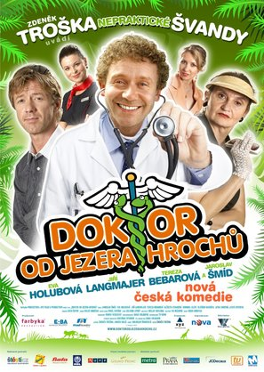 Doktor od jezera hrochu - Czech Movie Poster (thumbnail)