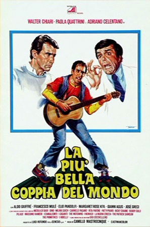 Più bella coppia del mondo, La - Italian Movie Poster (thumbnail)