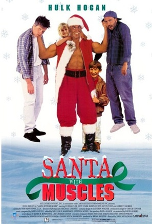 Santa with Muscles - DVD cover (thumbnail)