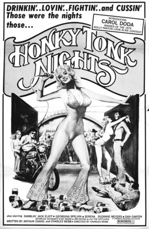 Honky Tonk Nights - Movie Poster (thumbnail)