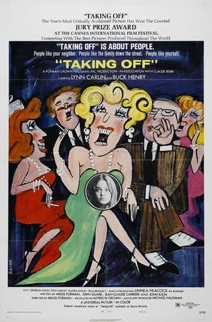 Taking Off - British Movie Poster (thumbnail)