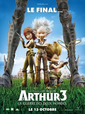 Arthur et la guerre des deux mondes - French Movie Poster (thumbnail)