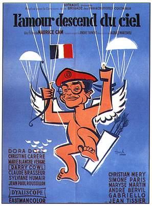 Amour descend du ciel, L' - French Movie Poster (thumbnail)