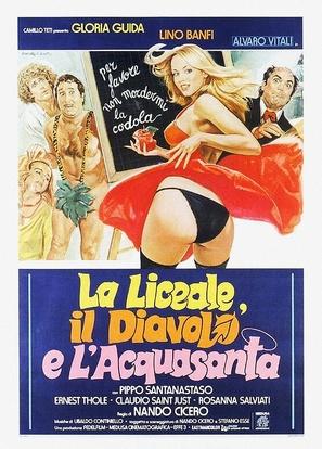 La liceale, il diavolo e l'acquasanta - Italian Movie Poster (thumbnail)