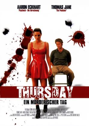 Thursday - German Movie Poster (thumbnail)