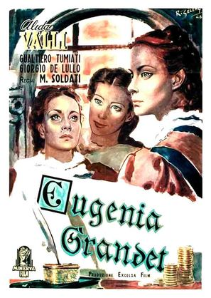 Eugenia Grandet - Italian Movie Poster (thumbnail)