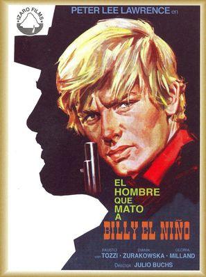 El hombre que mató a Billy el Niño - Spanish Movie Poster (thumbnail)