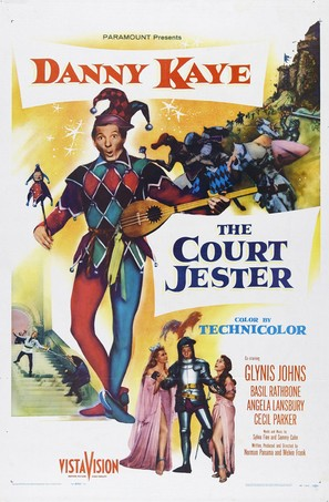 The Court Jester - Movie Poster (thumbnail)