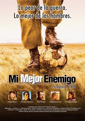 Mi mejor enemigo - Argentinian poster (thumbnail)