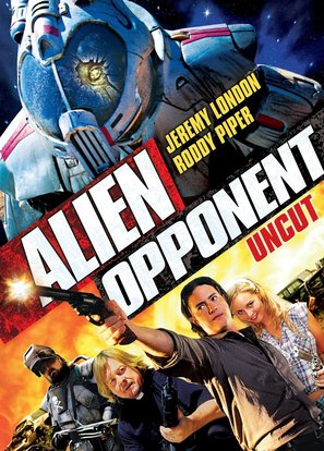 Alien Opponent - DVD cover (thumbnail)