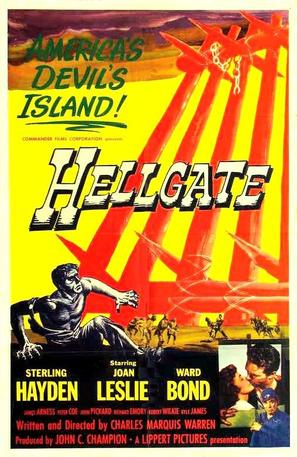 Hellgate - Movie Poster (thumbnail)