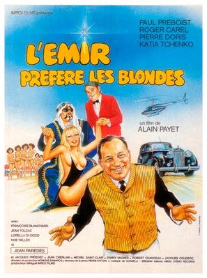 L'émir préfère les blondes
