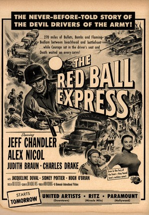 Red Ball Express - Movie Poster (thumbnail)