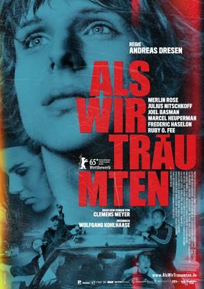 Als wir träumten - German Movie Poster (thumbnail)