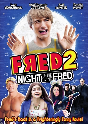 Fred 2: Night of the Living Fred - DVD cover (thumbnail)