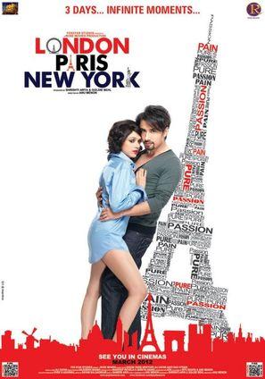 London Paris New York - Indian Movie Poster (thumbnail)