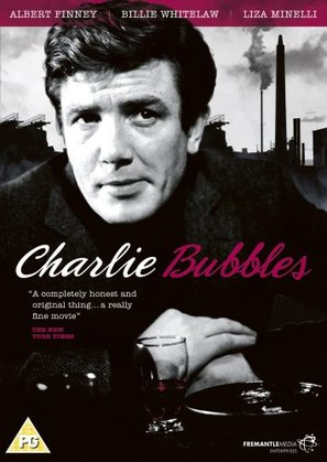 Charlie Bubbles - British DVD cover (thumbnail)