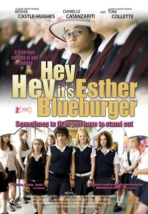 Hey Hey It's Esther Blueburger - Movie Poster (thumbnail)