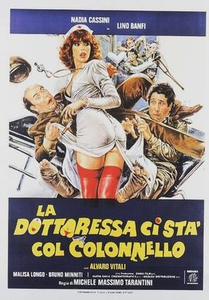 La dottoressa ci sta col colonnello - Italian Theatrical poster (thumbnail)