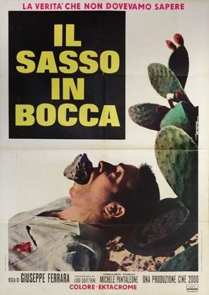 Risultati immagini per IL SASSO IN BOCCA ( 1969 ) POSTER