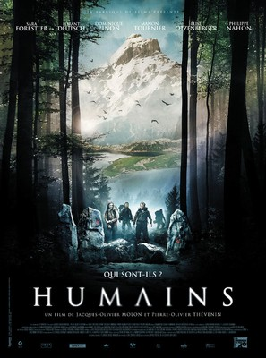 Humains - French Movie Poster (thumbnail)