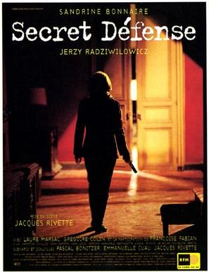 Secret défense - French Movie Poster (thumbnail)