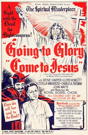 Going to Glory... Come to Jesus - Movie Poster (thumbnail)