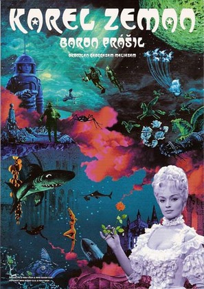 Baron Prásil - Czech Movie Poster (thumbnail)