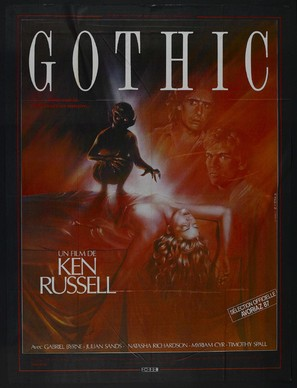 Gothic - French Movie Poster (thumbnail)