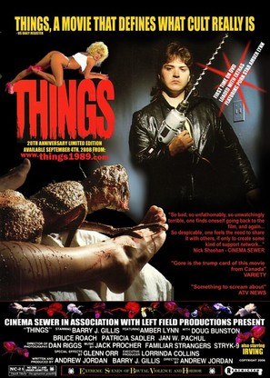 Things - Canadian Movie Poster (thumbnail)