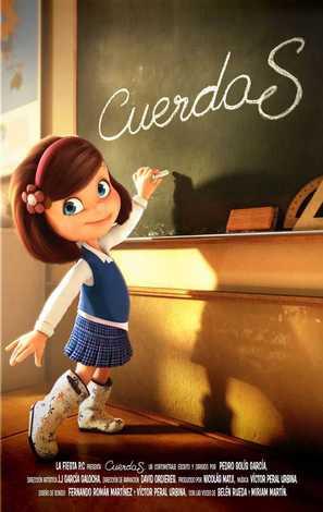 Cuerdas - Spanish Movie Poster (thumbnail)