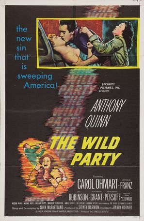 The Wild Party - Movie Poster (thumbnail)