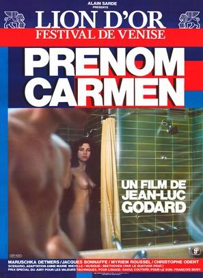 Prénom Carmen - French Movie Poster (thumbnail)