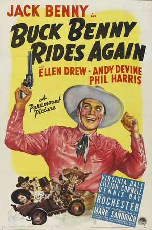 Buck Benny Rides Again - Movie Poster (thumbnail)