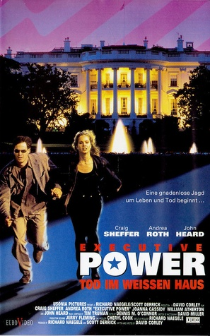 Executive Power - German VHS movie cover (thumbnail)