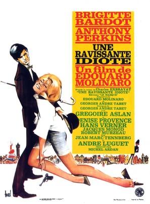 Une ravissante idiote - French Movie Poster (thumbnail)