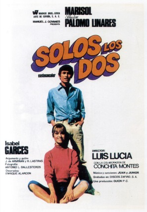 Solos los dos - Spanish Movie Poster (thumbnail)