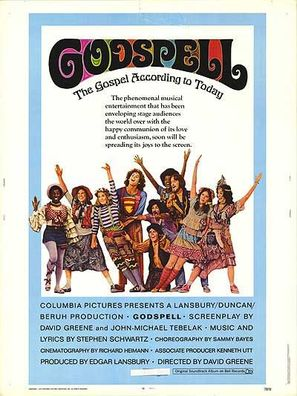 Godspell: A Musical Based on the Gospel According to St. Matthew - Movie Poster (thumbnail)