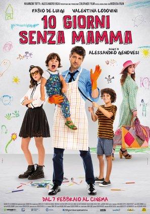 10 giorni senza mamma - Italian Movie Poster (thumbnail)