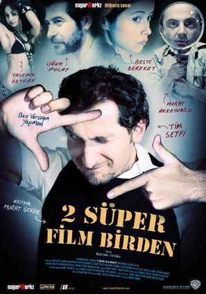 2 süper film birden - Turkish poster (thumbnail)
