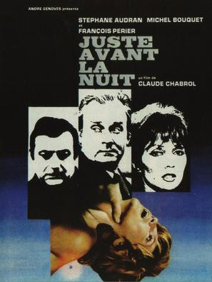 Juste avant la nuit - French Movie Poster (thumbnail)