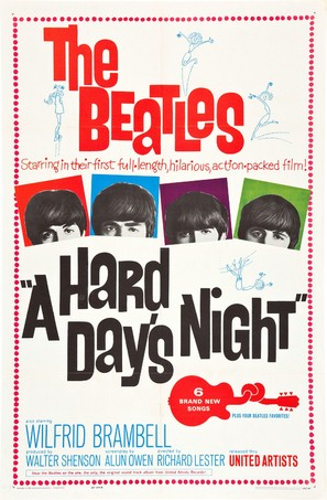 A Hard Day's Night - Movie Poster (thumbnail)